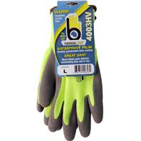 Bellingham Fall/Winter - Hi-Vis Acrylic With Latex Palm Glove - Hi-Vis Yellow - M