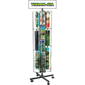 BLUE RIBBON PET PRODUCTS - BACKGROUND DISPLAY RACK WITH BACKGROUNDS--