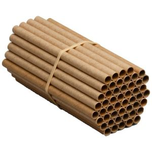 Welliver Outdoors - Mason Bee Replacement Tubes - Natural - 50Pk