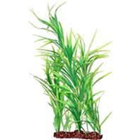 Poppy Pet - Freestanding Aquarium Plant - Dark Green - 16 Inch