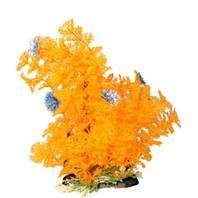 Poppy Pet - Bushy Ambuila Aquarium Plant - Orange - 12  Inch