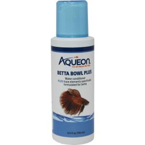 Aqueon Products - Supplies - Betta Bowl Plus Water Care - 4 Oz