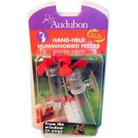 Audubon/Woodlink - Feeder Hummingbird Hand Held - Red / Clear - 3 Ounce