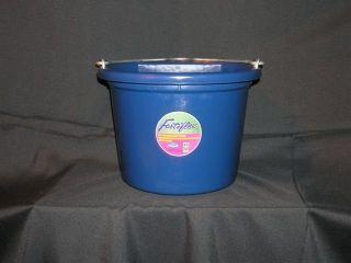 Fortex - Flat Back Bucket - Blue - 8 Quart