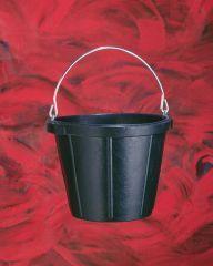 Fortex - Rubber Pail - Black - 10 Quart