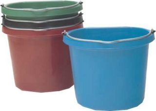 Fortex - Economy Flat Back Bucket - Blue - 20 Quart
