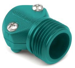 Gilmour - Male Coupling Hose Mender - Green - 1/2 Inch
