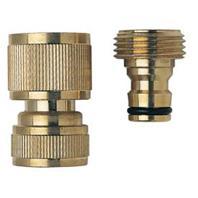 Melnor - Brass Quick Connector Kit - 17 Inch
