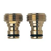 Melnor - Male Quick Connector - Brass - 5 Inch