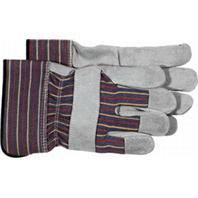 Boss Manufacturing - Kids Leather Cuff Glove - Gray