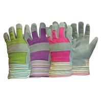 Boss Manufacturing - Ladies Leather Palm with Cuff Glove - Assorted