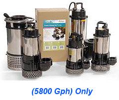 Atlantic Water Gardens - Tidal Wave Pump - 1Hp - 5800 Gph
