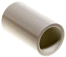 "Dura Plastic Products - Coupling - 1-1/4"" Slip x 1-1/4"" Slip (PVC)"