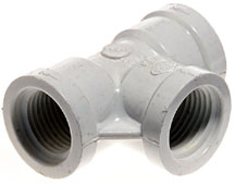 """Dura Plastic Products - Tee - 2"""" FPT x 2"""" FPT x 2"""" FPT"""