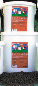 Chengro - 38520 Growth and Color Pellets Bucket - 20 Lb