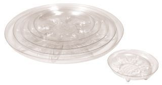 Bond Manufacturing - Saucer - Clear - 16 Inch