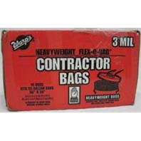 Warp Brothers - Contractor Bags - Black - 55 Gallon