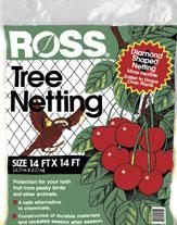 Easy Gardener - Ross Tree NettInchg - Black - 14 X 14  Feet