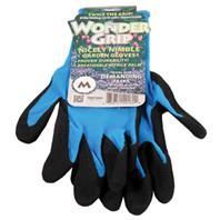 LFS Glove - Wonder Grip Nicely Nimble Garden Gloves - Assorted - Medium