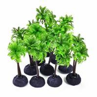 Aquatop Aquatic Supplies - Profit Power Pack Palm Tree - Green - 4 Inch/10 Pack