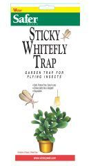 Woodstream Lawn & Garden - Safer Sticky Whitefly Disposable Trap -  3 Pack