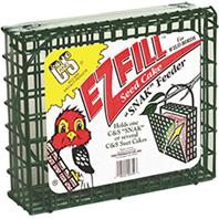 C and S - Ez Fill Snak Basket - Green - 8.75 Inch