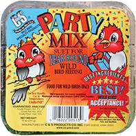 C and S - Party Mix Suet - 11 oz
