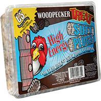 C and S - Woodpecker Treat Suet Plugs - 12 oz