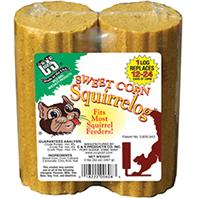 C and S - Sweet Corn Squirrelog Refill - 32 oz/2 Pack