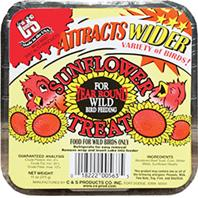 C and S - Sunflower Suet Treat - 11 oz