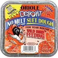 C and S - Oriole Delight Suet - 11.75 oz