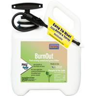 Bonide Products - Burnout Weed And Grass Killer Rtu Pump N Spray - 1 Gallon