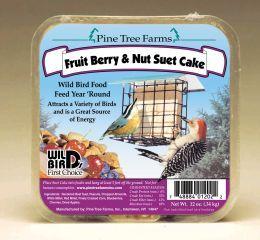 Pine Tree Farms - Suet Cake - Fruit/Berry/Nut 12 oz