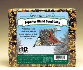 Pine Tree Farms -  Superior Bird Seed Cake  - 2 Lb