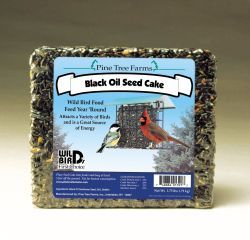 Pine Tree Farms -  Black Oil Sunflower Seed Cake  - 1.75 Lb