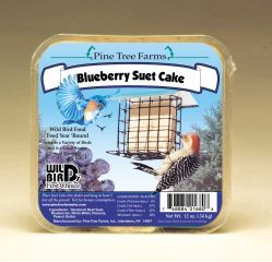 Pine Tree Farms - Suet Cake  - Blueberry 12 oz