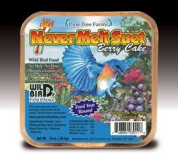 Pine Tree Farms -  Never Melt Suet Cake  - Berry - 13 oz