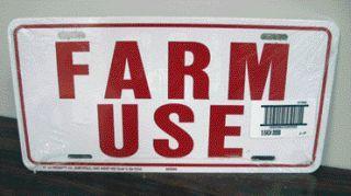 Hy-Ko - Farm Use Id Tag - White