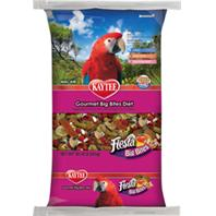 Kaytee Products Inc - Fiesta Gourmet Big Bites Diet For Macaws - 10 Lb