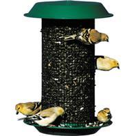 Audubon/Woodlink - Magnum Black Oil Sunflower Seed Feeder - Green - 5 Lb Capacity