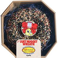 C and S - Suet Nugget Wreath - 2.6 Lb