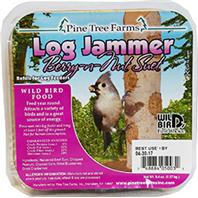 Pine Tree Farms -  Log Jammers Suet Plugs  - Fruit 9.4Ounce/3 Pack