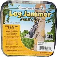Pine Tree Farms -  Log Jammers Suet Plugs - Insect 9.4 Ounce/3 Pack