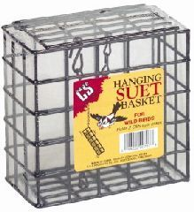 C and S - Back To Back Double Suet Feeder - Black - 5.25 Inch