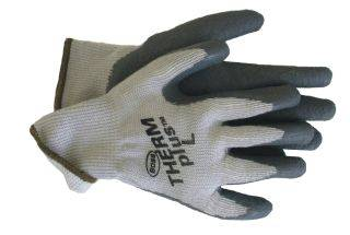 Boss Manufacturing - Lined String Knit Glove - Gray - Extra Large
