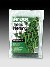 Easy Gardener - Ross Trellis Netting - Black - 6 x 8 Feet