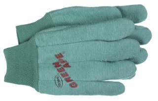 Boss Manufacturing - 2 Ply Chore Glove - Green - Large