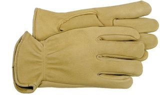 Boss Manufacturing - Unlined Deerskin Glove - Tan - Large