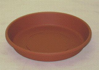 Akro-Mils - Classic Pot Saucer - Clay - 6 Inch