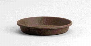 Akro-Mils - Classic Pot Saucer - Chocolate - 6 Inch